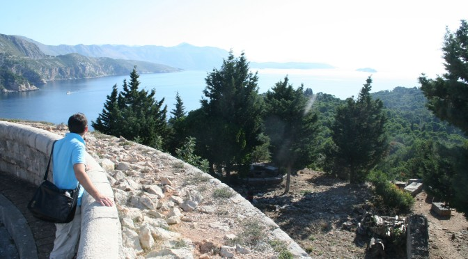 The view from Lokrum
