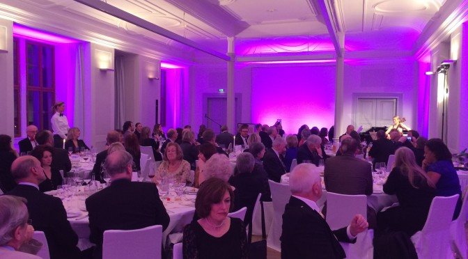The BGTW gala dinner in Weimar, Germany.