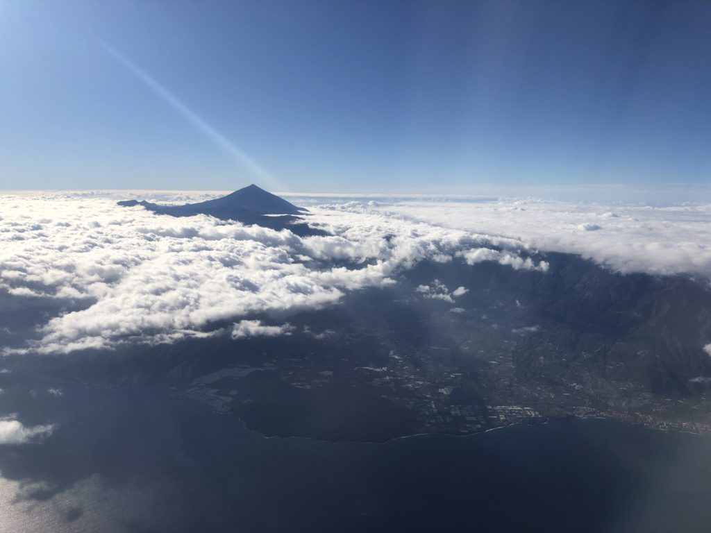 Mount Teide, the highest point of Tenerife